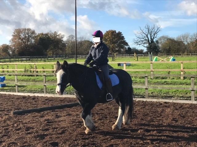 CRPS Horse Riding